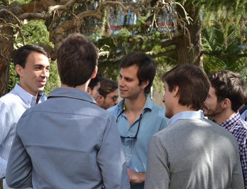 Encuentros de antiguos colegiales en el Colegio Mayor Mendel en Madrid