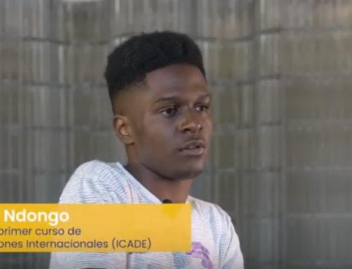 """Pascual Ndongo: """"Recomendaría el Mendel por las instalaciones"""""""
