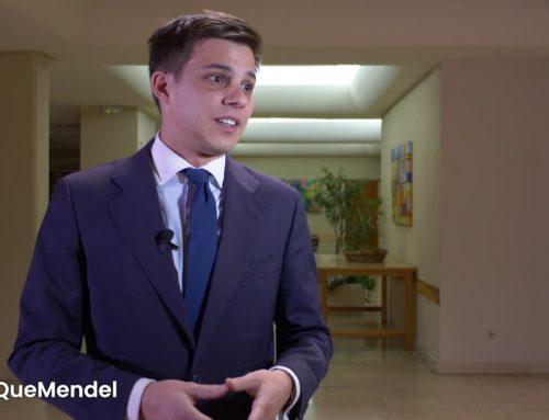 """Álvaro de Miguel: """"Quizás si no hubiese venido al Mendel no tendría este trabajo"""""""