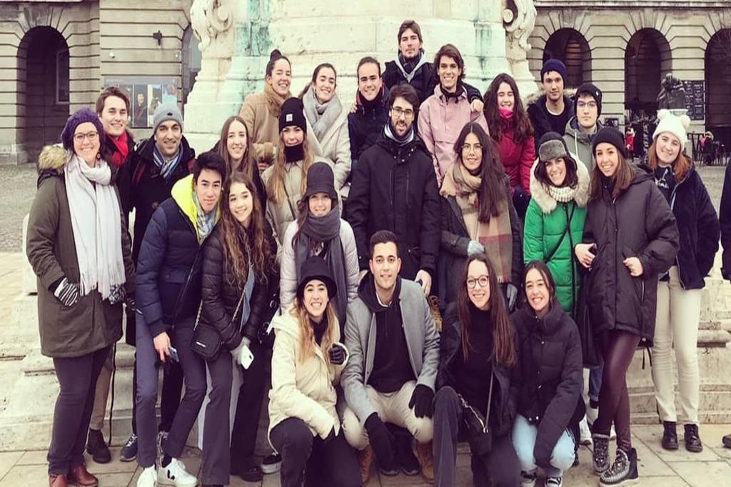 Viaje a Budapest de los colegiales del Colegio Mayor Mendel